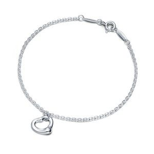Tiffany & Co Open Heart Bracelet